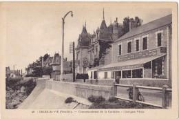 CROIX De VIE. - Hôtel De La PLAGE. Commencement De La Corniche - Saint Gilles Croix De Vie