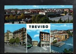 Q615 TREVISO, MULTIPLA - MULTIVUES, MULTIVIEW - VENETO, ITALIA - SCRITTA E VIAGGIATA 1967 - Treviso