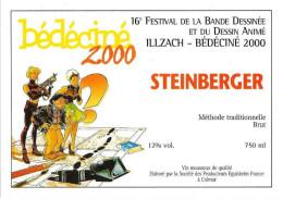BEDECINE 2000 MEYNET & ILLZACH Etiquette De Vin Wine Festival Bédé Illzach - Champagner
