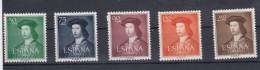 0322 EDIFIL Nº 1106/1110 NUEVO SIN CHARNELA - 1931-Hoy: 2ª República - ... Juan Carlos I