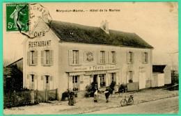 Méry Sur Marne  - Seine Et Marne - Hôtel De La Marine  - Animée - - La Ferte Sous Jouarre