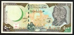 SYRIA (SIRIA)  : 500 Pounds - P110 - UNC - Siria