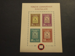 TURCHIA - BF  1963 ESPOSIZIONE - NUOVO(++) - 1921-... République