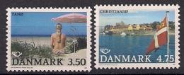 1991 Dänemark Danmark Mi. 1003-4 **MNH   Norden - Dinamarca