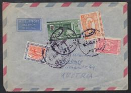 S618. SAUDI ARABIA. COVER JEDDAH TO AUSTRIA - Arabia Saudita