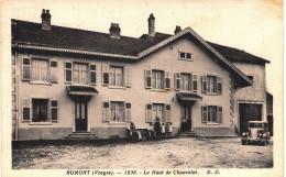 Carte Postale Ancienne De ROMONT - France