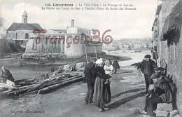 (29) Concarneau - La Ville Close Le Cercle Des Loups De Mer à L'Ancien Corps Des Douanes - 2 SCANS - Concarneau