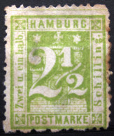 HAMBOURG                N° 12              NEUF SANS GOMME - Hamburg
