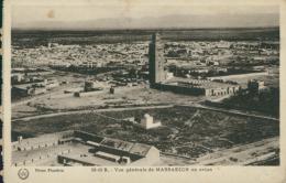 MA MARRAKECH / Vue Générale En Avion / - Marrakech