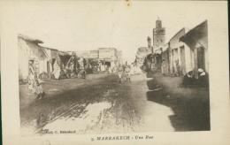 MA MARRAKECH / Une Rue / - Marrakech