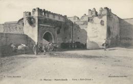 MA MARRAKECH / Porte Bab Ghmat / - Marrakech