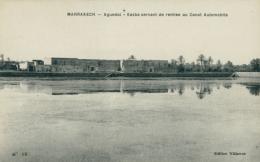 MA MARRAKECH / Aguedal, Kasba Servant De Remise Au Canot Automobile / - Marrakesh