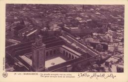 MA MARRAKECH / Grande Mosquée Vue En Avion / - Marrakech