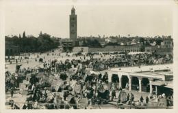 MA MARRAKECH / Place Djma El Fna / - Marrakech