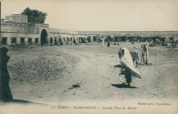 MA MARRAKECH / Grande Place Du Mellah / - Marrakech