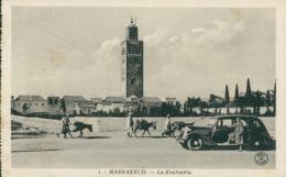 MA MARRAKECH / La Koutoubia / - Marrakech