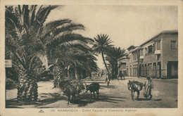 MA MARRAKECH / Crédit Foncier Et Communal Algérien / - Marrakesh