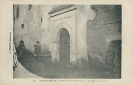 MA MARRAKECH / Porte De La Maison Du DR Mauchamp / - Marrakech