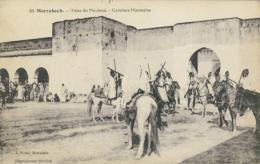 MA MARRAKECH / Fêtes Du Mouloud, Cavaliers Marocains / - Marrakech