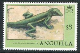 159 ANGUILLA 1978 - Grand Lezard (Yvert 277) Neuf ** (MNH) Sans Trace De Charniere - Anguilla (1968-...)