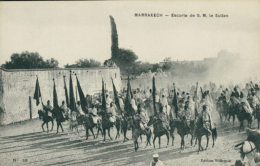 MA MARRAKECH / Escorte De S. M. Le Sultan / - Marrakech