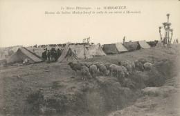 MA MARRAKECH / Bivouac Du Sultan Moulay Iousef / - Marrakech