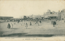 MA MEKNES / Place Bab Mansour / - Meknès