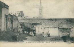 MA MEKNES / Mosquée Djemma Dzigorine / - Meknès