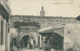 MA MEKNES / Porte Bab Djenaoua / - Meknès
