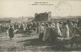MA MEKNES / Marché Aux Moutons / - Meknès
