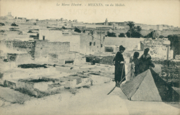 MA MEKNES / Vu Du Mellab / - Meknès