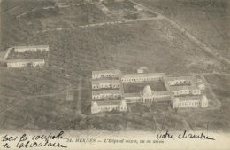 MA MEKNES / Hôpital Mixte, Vu En Avion / - Meknès