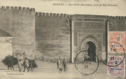 MA MEKNES / Porte Marocaine / - Meknès