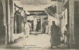 MA MEKNES / Carrefour Dans Les Souks / - Meknès