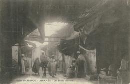 MA MEKNES / Les Souks Couverts / - Meknès