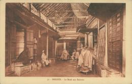 MA MEKNES / Le Souk Aux Soieries / - Meknès
