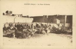 MA MEKNES / Place El Hedine / - Meknès