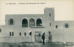 MA MEKNES / Entrée Du Monopole Des Tabacs / - Meknès