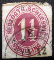 SCHLESWIG-HOLSTEIN               N° 20             OBLITERE - Schleswig-Holstein