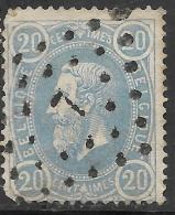 6Wz-025: N° 31: Ps7: CUREGHEM - 1869-1883 Leopold II