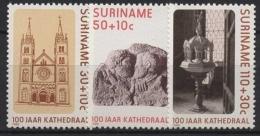 Surinam 1986 100 Jahre Kathedrale Paramaribo 1177/79 Postfrisch - Surinam