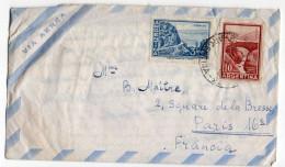 ARGENTINE-1961--Lettre De BUENOS-AIRES Pour PARIS-France--timbres+cachets --KAHAN José - Argentine