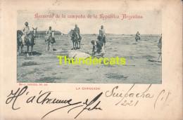 CPA  ARGENTINE ARGENTINA  RECUERDO DE LA CAMPANA  REPUBLICA ARGENTINA  LA CARNEADA - Argentine