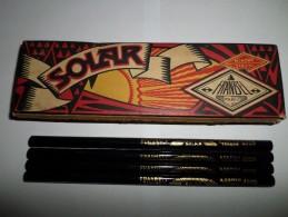 BOITE CRAYONS NOIR FRANBEL SOLAR PARIS - Autres Collections