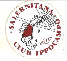 ADESIVO SALERNITANA CLUB IPPOCAMPO 1977 - Altri