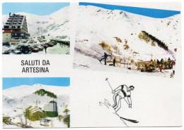 Saluti Da Artesina M. 1300 - Frabosa Sottana (Cuneo) - Campi Da Sci - Alta Valle Maudagna - Other Cities