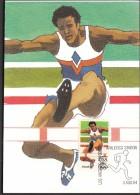 USA Los Angeles Athletics Station 1984, Olympic Games Los Angeles 1984 / Athletics, Hurdles - Estate 1984: Los Angeles
