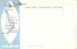JANGADA FORTALEZA ESTADO DE CEARA CIRCA 1960 PUBLICITE VARIG COMPAÑIA AEREA POSTAL EDITADA EN URUGUAY RARE - Fortaleza