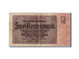 Allemagne, 2 Rentenmark, 1937, KM:174b, 1937-01-30, B+ - [ 3] 1918-1933 : République De Weimar