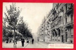 57. Metz. Boulevard Empereur Guillaume. 1908 - Metz